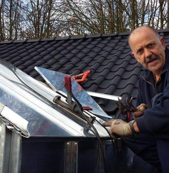Zinken dakkapel met Jan Cox